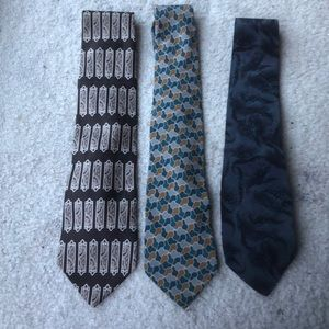 Other - Mens multi color and design neck tie